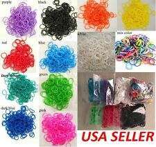 Rainbow Loom Refills ALL COLORS 600+Rubber bands & S-clips