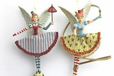 GISELA GRAHAM CHRISTMAS RESIN FANTASY CIRCUS FAIRY DECORATION