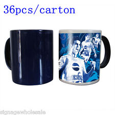 36pcs/carton!!1OZ Blank Sublimation Magic Cup Mugs Full Color Changing Mugs