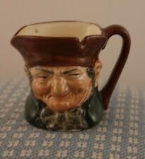 ROYAL DOULTON  TOBY MUGS (7 DIFFERENT FACES OPEN TO SEE ALL) SMALL 2 1/4 in.Tall