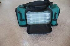 EXTREME TOURNEY 360 Soft Sided Fishing Tackle Bag w 4-Bass Pro Boxes