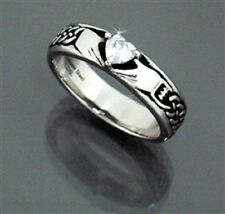 Stainless Steel CELTIC CLADDAGH RING