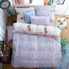 Twin Double Queen King Bed Set Pillowcase Quilt Duvet Cover Tree Life Ous