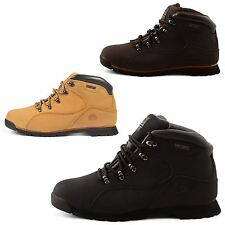 MENS GROUNDWORK WORK SAFETY LEATHER BOOTS STEEL TOE CAP ANKLE BOOTS SHOE TRAINER