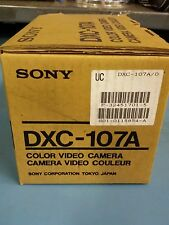 SONY DXC-107A COLOR VIDEO CAMERA NEW IN BOX CCD-IRIS