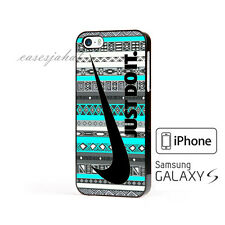 New Nike Just Do It Aztec Cover iPhone 7 7+ 6 6+ 6s 6s+ 5 5s 5c Samsung Case