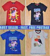 NEW George Pig (Peppa Pig) T-Shirt - 4 designs - multiple sizes - FREE POSTAGE