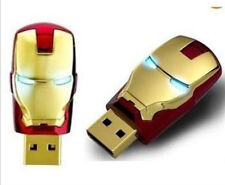Wholesale USB 2.0 iron man model 4-32GB Enough Memory Stick Flash pen Drive JD44