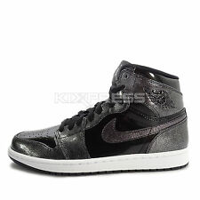 Nike Air Jordan 1 Retro High [332550-017] Basketball Patent Leather Black/White