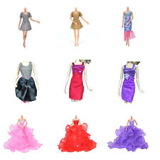 New Fashion Handmade Clothes Dress For Barbie Doll Different Style Beauty Tq