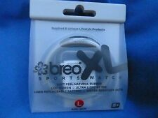 Brand New Sports Breo XL Grey Water Resistant Rubber Watch - Size L
