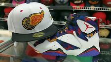 Matching New Era Detroit Red Wings 5950 fitted for Jordan & Sweater Nothing But