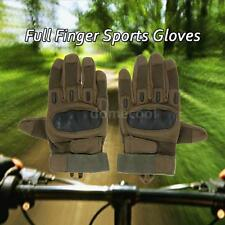 Hard Knuckle Full Finger Tactical Gloves Sport Shooting Cycling Riding New O3F5