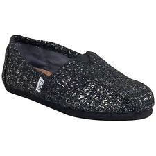 TOMS Classic Slip-On Canvas Womens Assorted Styles