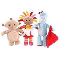 IN THE NIGHT GARDEN MINI SOFT TOY - IGGLE PIGGLE,MAKKA PAKKA,UPSY DAISY 0m+