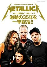 @JPN Book CROSSBEAT Special Edition Metallica 35th History