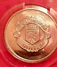 MANCHESTER UNITED COLLECTORS MEDAL.mint condition-sealed.