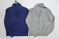 NWT $145 Polo Ralph Lauren Cardigan Sweater Solid 100% Cotton