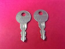 2 Kimball File Cabinet Lock Keys Code Cut to 001 thru 050 Key Office Furniture