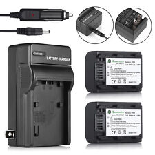 NP-FH50 Battery + Charger For Sony NP-FH40 NP-FP50 DSC-HX1 HX100V A230 A330 A380