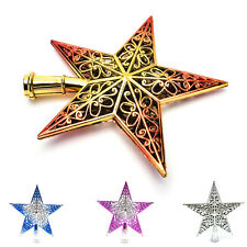 Christmas Tree Star Topper Ornament Party Decoration Xmas New DecorationsStarsHU