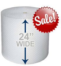 "24"" WIDE 3/16"" x 175' Ft Bubble Roll Small Bubble Cushion. Wrap It Up!"