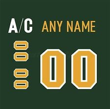 Finland Ilves Tampere Green Jersey Customized Number Kit un-sewn