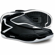 Shimano SH-AM45 MTB Shoes - Black and White Mountain Bike Shoes - Various Sizes