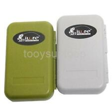 Waterproof Portable Fly Box Slit Foam Fly Fishing Case Tackle Storage Holder Box
