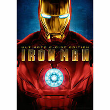 Iron Man DVD, 2008, 2-Disc Set, Ultimate Edition