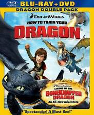 How to Train Your Dragon/Legend of the Boneknapper Dragon (Blu-ray/DVD, 2010,...