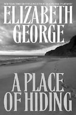Inspector Lynley: A Place of Hiding by Elizabeth George (2003, Hardcover)