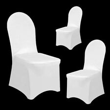 1-100 Chair Covers Spandex Lycra Wedding Banquet Anniversary Party Décor