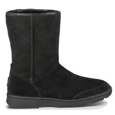 100% AUTHENTIC UGG AUSTRALIA 1008027 BLK MICHAELA LEATHER BOOTS NEW IN BOX