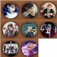 KPOP BTS Wings Badge BANGTAN BOYS JungKook JIMIN JIN SUGA Rap Monster Button Pin