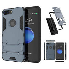 Armor Hard Hybrid 2 in 1 Case Cool Back Cover With Kickstand For iPhone 7 7 Plus