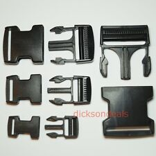 Plastic Delrin Side Release Buckles Clips For Webbing Bags Straps 20mm - 50mm