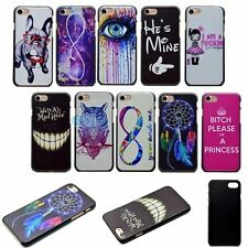 Thin Slim Fashion Style Printed PC Hard Back Cover Skin Case For iPhone 7 7PLUS
