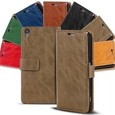 Protective Case Sony Xperia Book Cover Wallet Flip Phone
