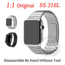 PROMOTION XMAS HOT Link 316L Stainless Steel Watch Strap Band For Apple Watch