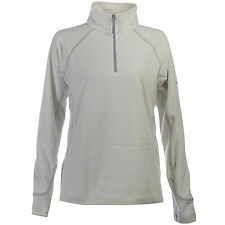 Berghaus Women's Spectrum Micro Outdoors Activewear Half Zip Fleece Dark White