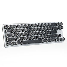 Magicforce 68 Keys Mini Mechanical Keyboard with steampunk typewriter keycaps
