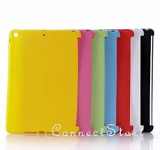 Slim SoftGel TPU Back Case Smart Cover Partner for 2013 Apple iPad Air 5 5th Gen