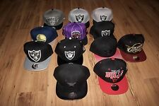 Chicago Bulls Raiders Cleveland Cavaliers Toronto Raptors Miami Heat Snapbacks