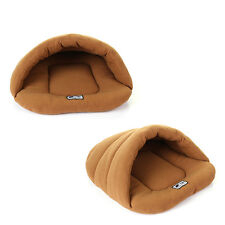 Warm Pet Dog Cat Bed Nest Cozy Puppy Winter Sleeping Bag Soft Cave House Mat