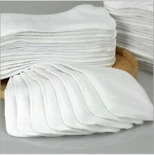 1-20Pcs Reusable Baby inserts liner for Cloth Diaper Nappy microfiber Optional ぴ