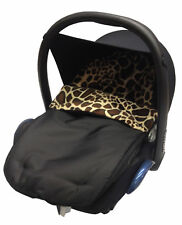 Fit Animal Print Padded Car Seat Footmuff / Cosy Toes/Cosy Toes Giraffe