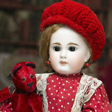 """15"""" Beautiful Antique German Sonneberg Bisque Child Doll for the French Market"""