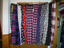 Women's Flannel Pajama Pants Old Navy All Reg,Size Multi Color 100% Cotton NWT