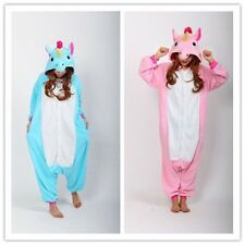 Unisex Adult Onesie Sleepwear Unicorn Kigurumi Pajamas Animal Cosplay Costume/*!